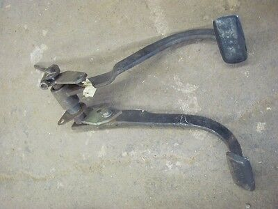 55 56 57 Chevrolet Chevy 4 Speed Manual Brake & Clutch Pedals 1955 1956 1957