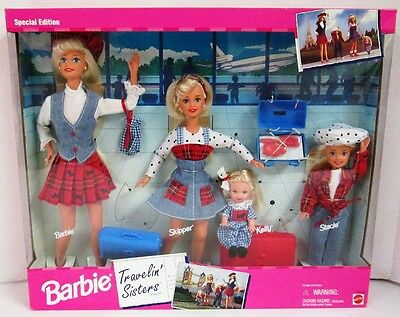 Barbie Travelin' Sisters Playset (Special Edition)(New)