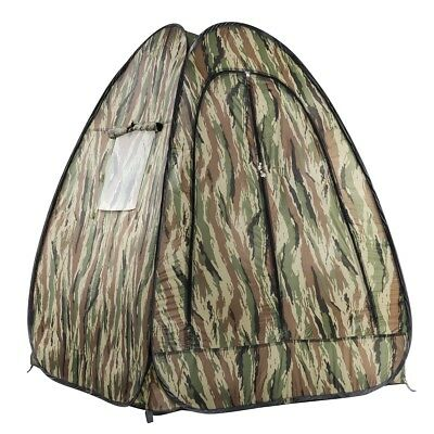 walimex Pop-Up Camouflage Tent, for nature photographers/filmers, 110x110x140cm