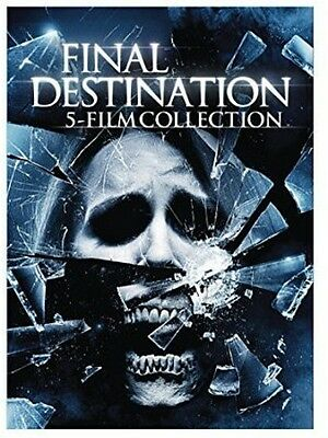 5 Film Collection: Final Destination (2015, REGION 1 DVD New)