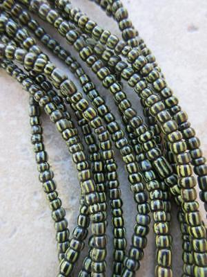 African Glass Beads -6 Strands [65605]