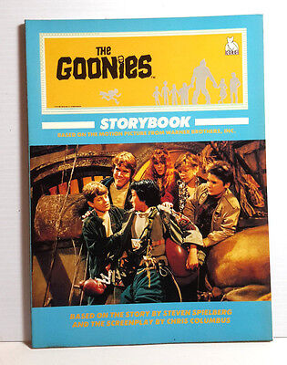 1985 Goonies Storybook Softcover Movie Book from UK- 64 Pages-Out of Print