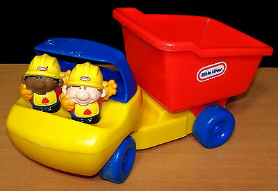 Little Tikes Dump Truck with 2 People - VGC