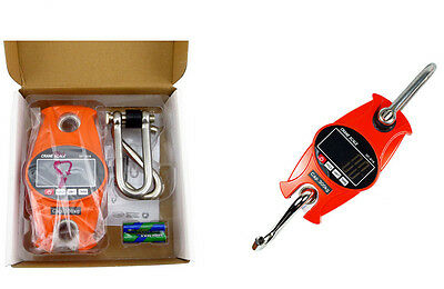300Kg 0.3 T Electronic Digital Portable Hanging Crane Scale LCD Display
