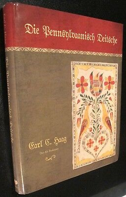 Pennsylvania Dutch German Folklore,Dialect,Culture,Holiday customs,stories BOOK