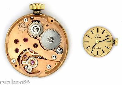 OMEGA 625 original ladies watch movement working (4115)