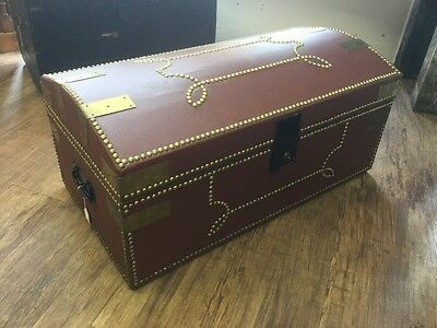 Antique Dome Top Trunk / Pirate Chest