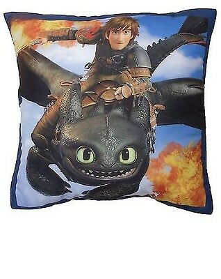How To Train Your Dragon 2 'Toothless' Printed Cushion 40cm x 40cm