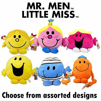 Mr Men & Little Miss 35cm Large Plush Soft Toys - Assorted Characters