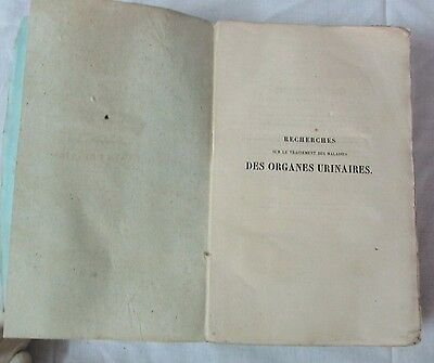 First Edition 1856 Extremely Rare Urology Mercier