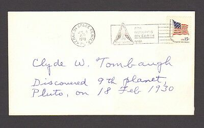 Vintage Autograph CLYDE W TOMBAUGH Astronmer Discovered Pluuto in 1930