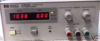 HP E3615A DC Power Supply, 0 to 20 Vdc, 0 to 3 A, 60 W Tested