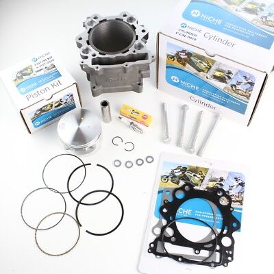 686cc 102mm Big Bore Cylinder Piston Gasket Kit for Yamaha Rhino 660 2004-2007