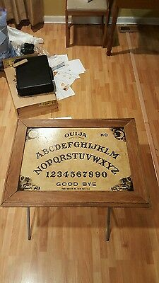 Cool Ouija Board Made Into Eating Tv Tray Stand