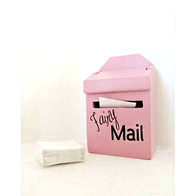 'lil Fairy Pink Mailbox Letters Set Handmade Pretend Play Authorized Seller