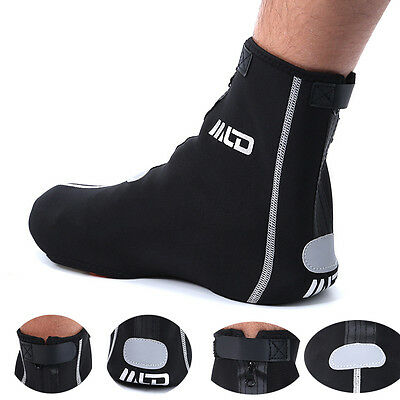 Waterproof Cycling Shoe Covers Bike Windproof Warmer Case Protector Overshoes
