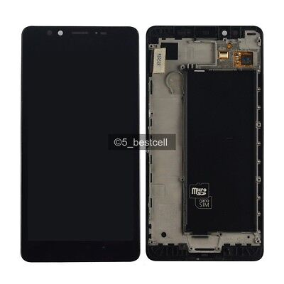 New Microsoft Lumia 950 Touch Screen Digitizer + LCD Display Assembly With frame