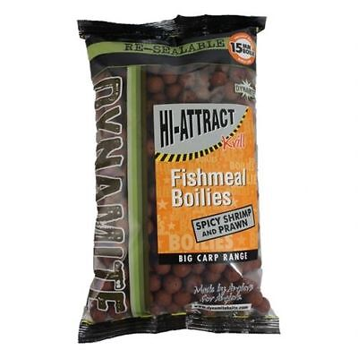 1kg DYNAMITE BAITS SHRIMP & PRAWN SHELF LIFE BOILIES 15mm FOR CARP FISHING DY970