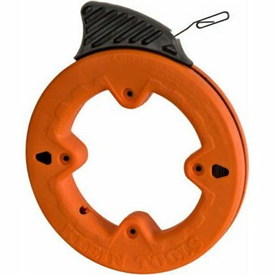 Klein Tools 56005 1/4-Inch Wide Steel Fish Tape, 25-Feet New