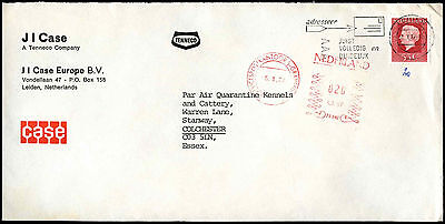 Netherlands 1977 Cover To UK #C37762