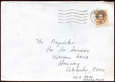 Netherlands 1989 Cover To UK #C37776
