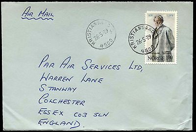 Norway 1979 Commercial Airmail Cover To UK #C37715
