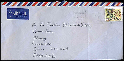 Australia 1983 Commercial Air Mail Cover To UK #C37642