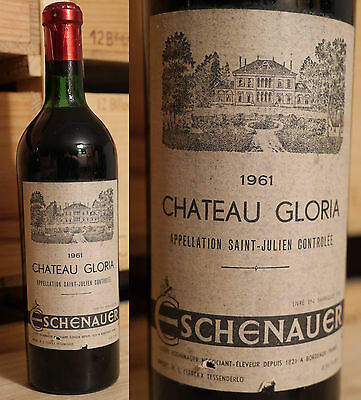 1961er Chateau Gloria - Saint Julien - Top Rarität  !!!!!!!!