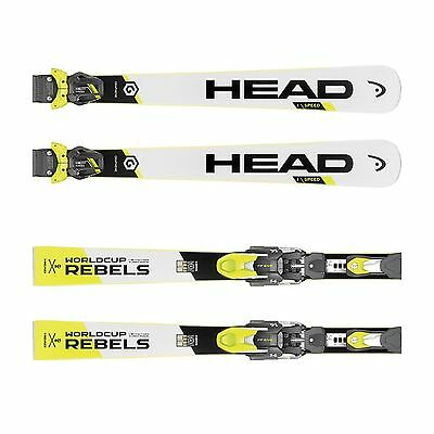 Head Herren WC Rebels iSpeed Pro RP Evo 14 + FF Evo 11 Race Carver Ski White