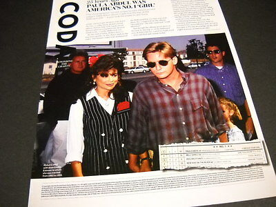 PAULA ABDUL Twenty Five Years Ago 2014 detailed retro style PROMO DISPLAY AD