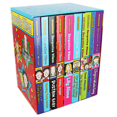 Jacqueline Wilson - 10 Book Box Set (Paperback), Children's Books, Brand New