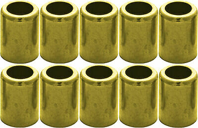 "Brass Hose Ferrule 10 Pack for 3/8"" Air Hose #7329"
