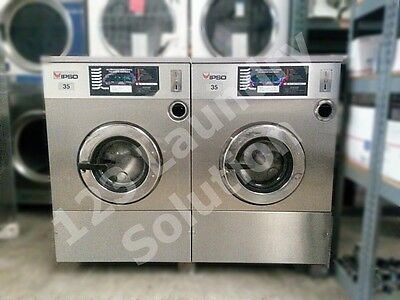 Front Load Washer single Ph 35 Lb IPSO 35 Used