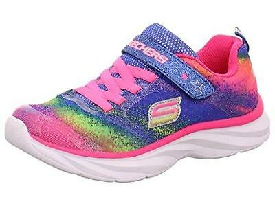 Skechers 80593 Pepsters- Bling Brite Sneaker Multi-Color S9 Girls Toddler New