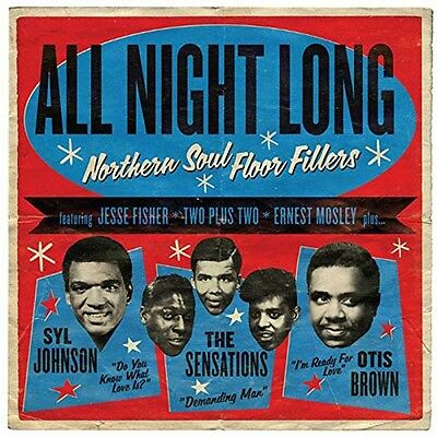 All Night Long NORTHERN SOUL Compilation LP Vinyl NEW