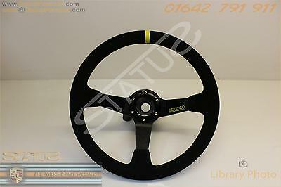Sparco Steering Wheel And Boss To Fit 911 997 And Boxster 987 Onwards 11300 9973