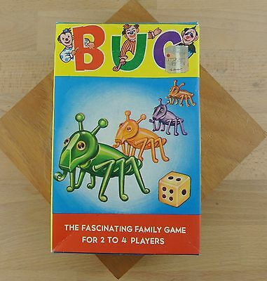 Vintage BUG Game A Fascinating Family Game 1960s COMPLETE