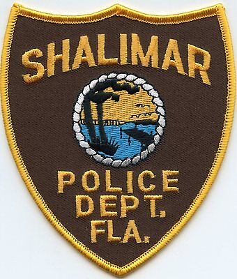 Shalimar Florida Fl Police Patch