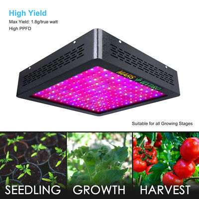 Mars II 900W LED Grow Light Hydro Veg Flower Full Spectrum for Hydroponics Lamp