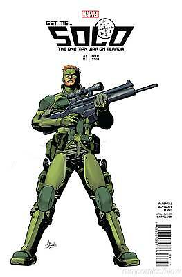 Solo #1 Mike Deodato Variant Marvel Now 2016