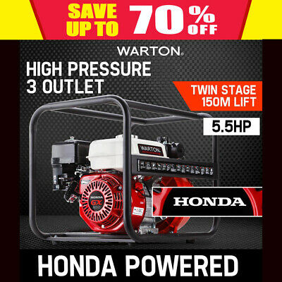 "NEW 2"" HONDA POWERED High Pressure Water Transfer Pump Fire Fighting Irrigation"
