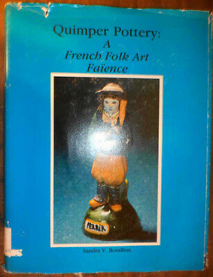 Rare Antique Quimper Art Pottery French Folk Art Faience  Guide History Marks ++