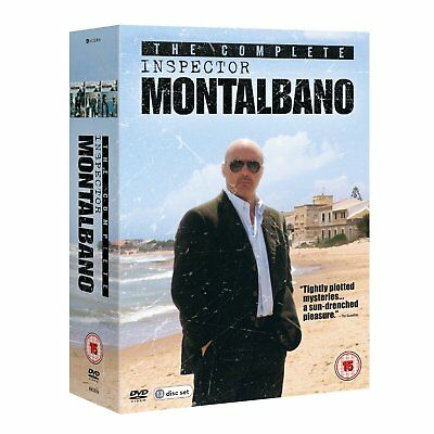 The Complete INSPECTOR MONTALBANO DVD Set NEW Region 2