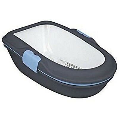 Trixie Berto Cat Kitten Litter Tray With Rim - Litter  Separation System 40153
