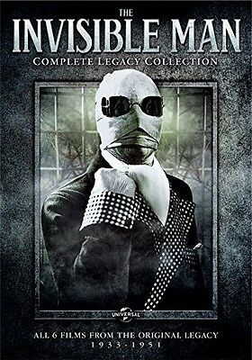Invisible Man: Complete Legacy Collection - 3 DISC SET (2014, REGION 1 DVD New)