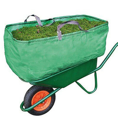 Garden & Farm Wheelbarrow Bag Heavy Duty Increased Capacity Grass Leaves 270L