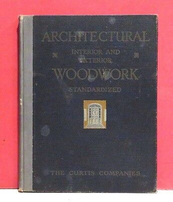 Curtiss Companies Architectural Interior and Exterior Woodwork Catalog - 1920