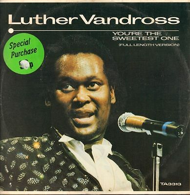 "Luther Vandross(12"" Vinyl)You're The Sweetest One-Epic-TA 3313-UK-1983-VG/Ex"