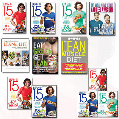 Lean in 15 The Shape Plan The Sustain Plan Lean for Life Lean Machines Lean Pack