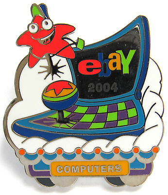 eBay Live 2004 Pin COMPUTERS Category PIN New (Promo Giveaway Item)